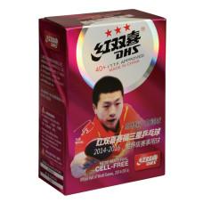 Мяч для н/т DHS 3*** 40+ ITTF (пластик) 6 штук