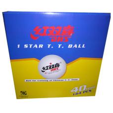 Мяч для н/т DHS 1*,  144 шт, бел.