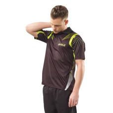 Теннисная рубашка Joola Nappa черн/зелен