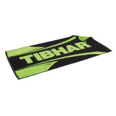Полотенце TIBHAR Scala черн/зел