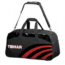 Сумка TIBHAR Curve черно/красн