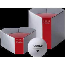 Мяч для н/т Xiom 3*** 40+ ITTF (пластик) ,бесшовные, 6 шт