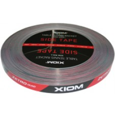 Торцевая лента XIOM 10mmx50m чёрн./красн.